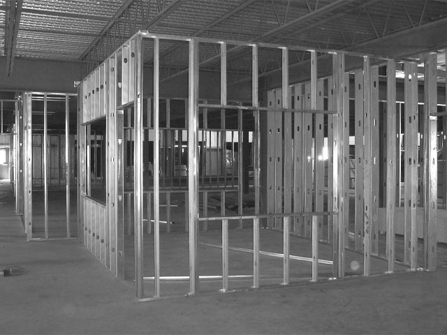 Metal Stud Partition Walls : Stud wall partition ibuild contracting services